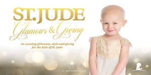 St. Jude Glam and Giving Little Girl